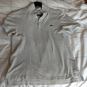 Lacoste LIVE Heather Grey Polo